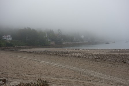 Seal Harbor, before the mist cleared