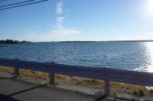 Crossing the bridge onto Desert Island, Maine