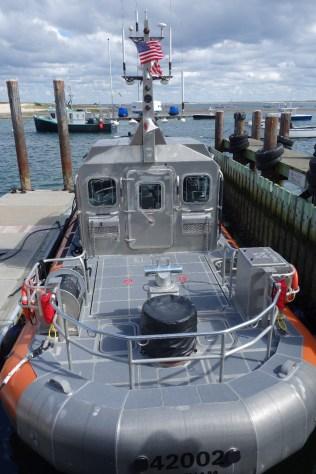 Modern Coast Guard rescue boats