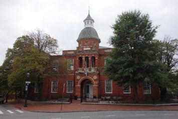 Annapolis courthouse, where Mark and I got married officially in 2007