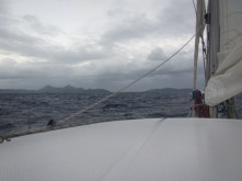 Our three week long Pacific Ocean crossing ended in a storm upon approaching the Gambier Islands in French Polynesia - not the most fun landfall