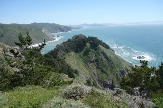 Viewpoint near Muir Beach