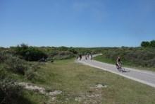 Biking is very popular on the island