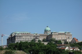 The National Gallery/Royal Palace is visible from everywhere