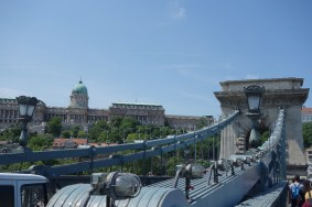 Chain Bridge with the massive National Gallery in the background