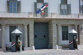 Residence of the President with the National Guard
