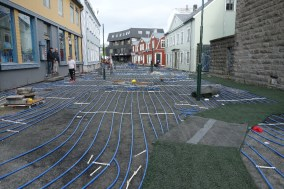 One of the streets in Reykjavik has hot water running underneath it, to keep the street ice and snow-free all year!