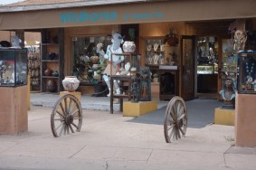 One of the many shops in Santa Fe