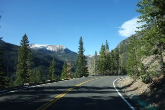 Driving back down