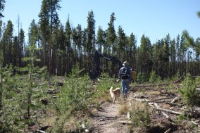 Grand Lake Recreation Area and trails