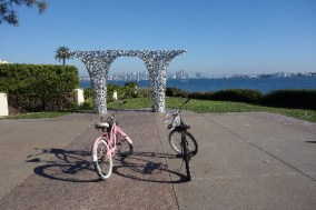 Biking Harbor Island