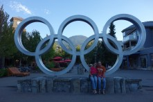 The Olympic rings in town