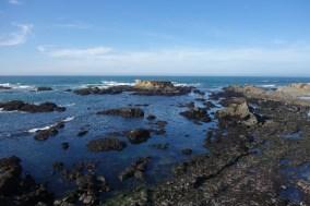 And along the California coast