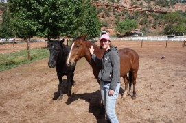 As volunteers, we took care of a variety of animals at Best Friends Animal Sanctuary.