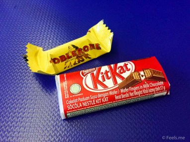 ANA: SIN NRT Premium Ecnonomy KitKat as snack