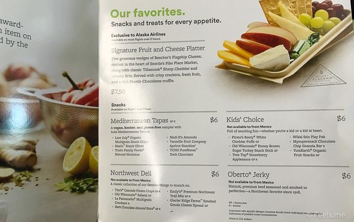 AS SEA SFO Economy Class Cheese Platter Anyone?
