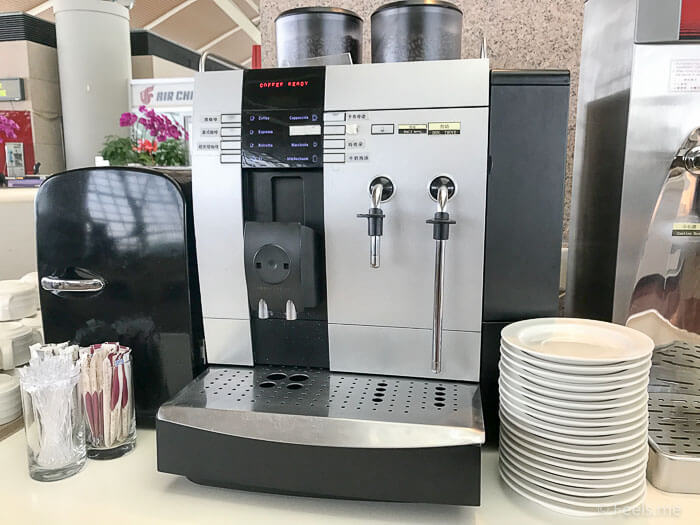 Air China Shanghai T2 Star Alliance Lounge Coffee machine