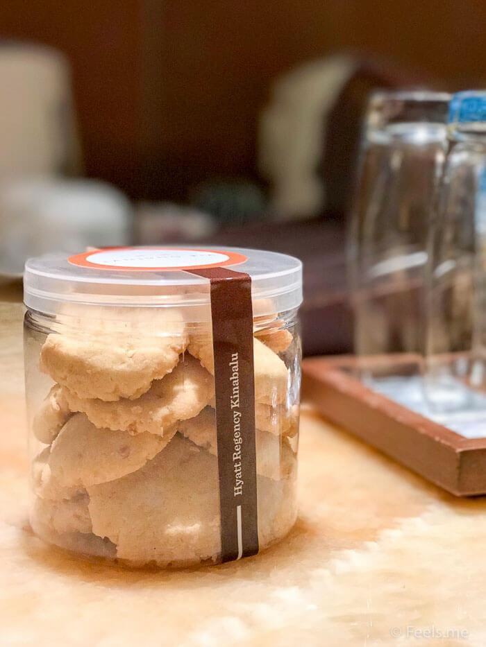 Hyatt Regency Kinabalu, Regency Suite Welcome Cookies