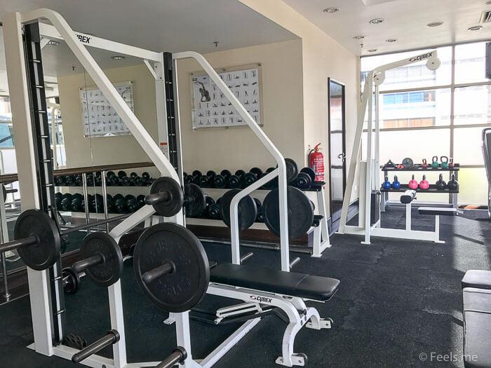 Hyatt Regency Kinabalu, Regency Suite Gym