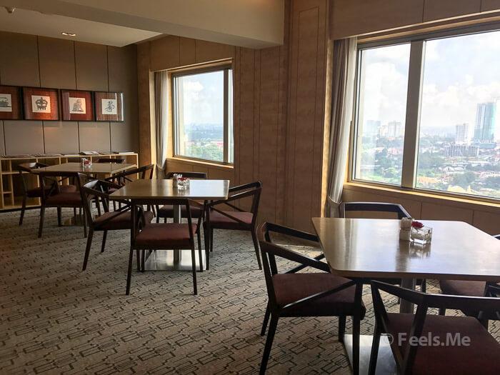 DoubleTree JB Executive Lounge Area
