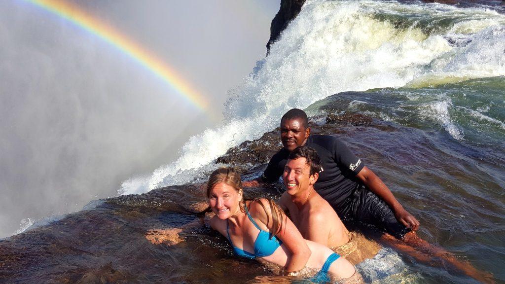 Devils Armchair Victoria Falls