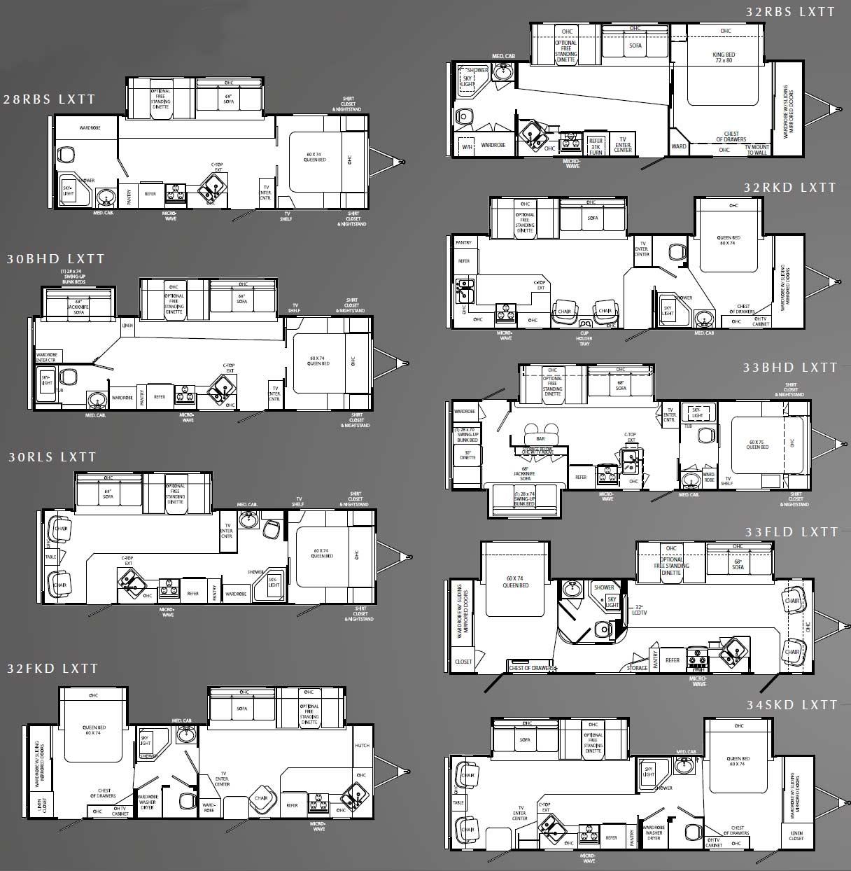 Holiday Rambler Wiring Diagrams 25sb Simple Diagram Rv Motorhomes Floor Plans Wikizie Co