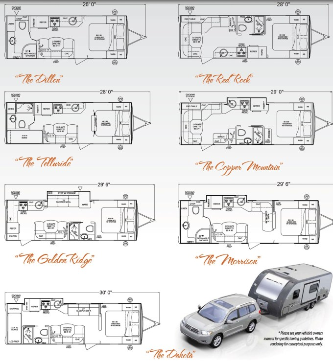2005 Fleetwood Prowler Travel Trailer Floor Plans