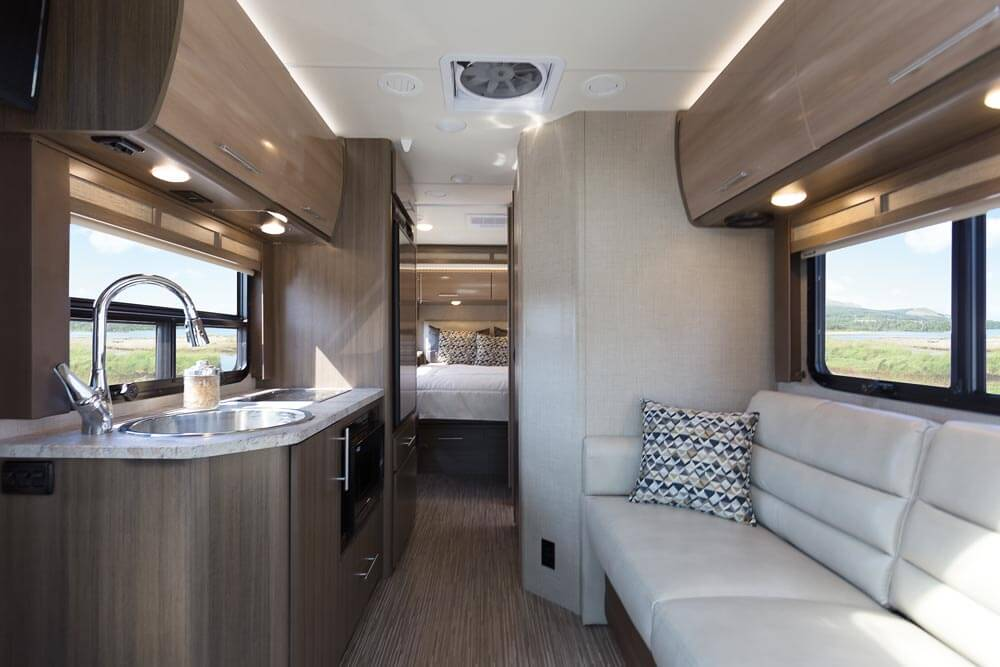 Thor 2017 Ruv Motorhome Substantial Upgrades