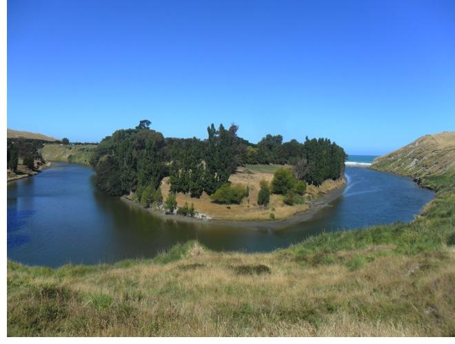 DOC Glenfalls campsite next to the Mohaka River.