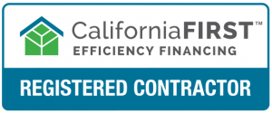 CaliforniaFIRST registered contractor logo
