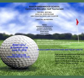 NAACP Golf Tournament 2018