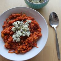 Recept: Parelgortrisotto met gemarineerde feta