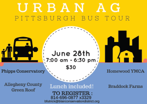 Urban Ag Pittsburgh Bus Tour