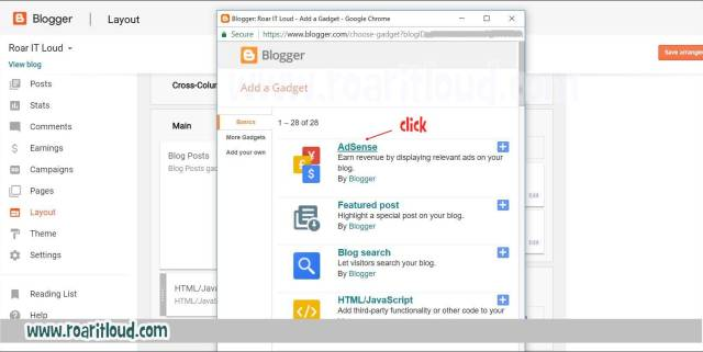 How to put adsense ads in blogger steps by step guide