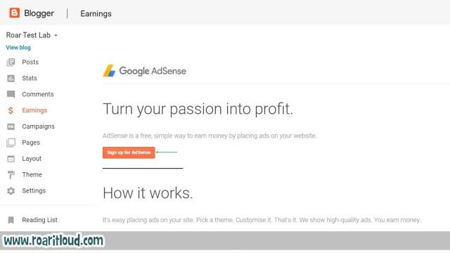 apply for AdSense how to apply for AdSense from blogger