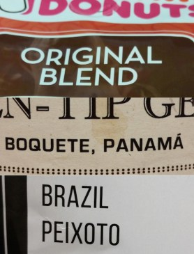 Country of Origin or Blend