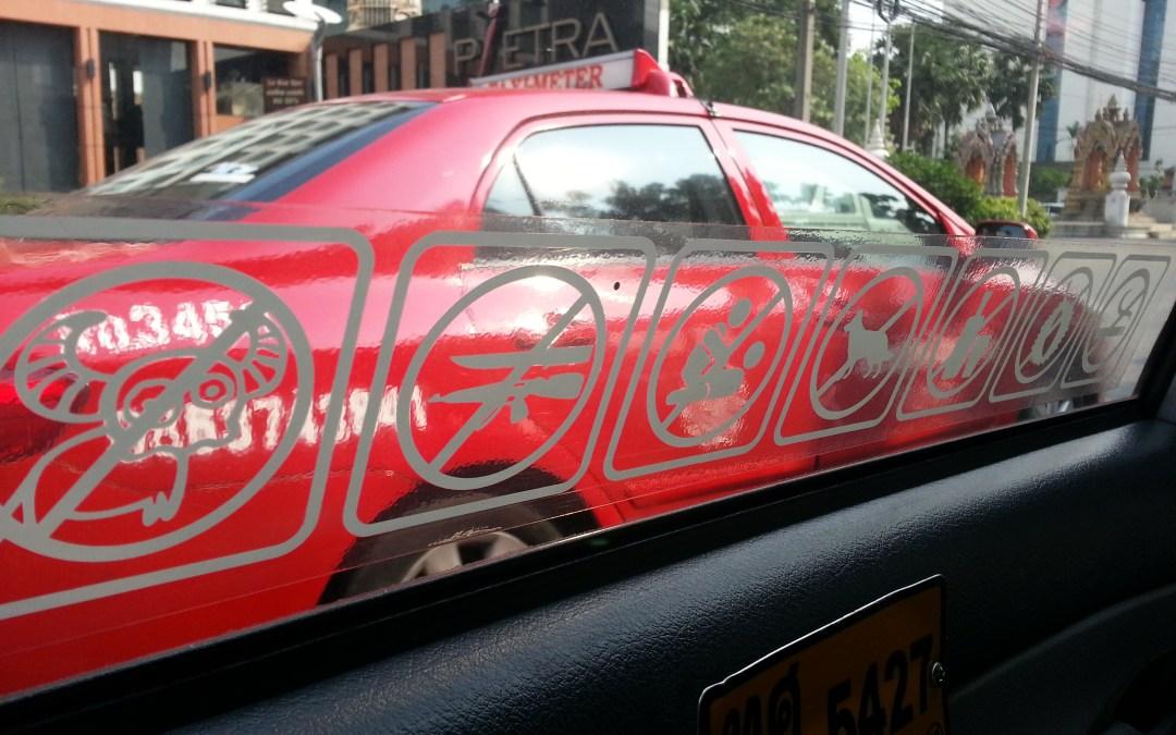 Amazing Thailand No2 – Taxi Etiquette
