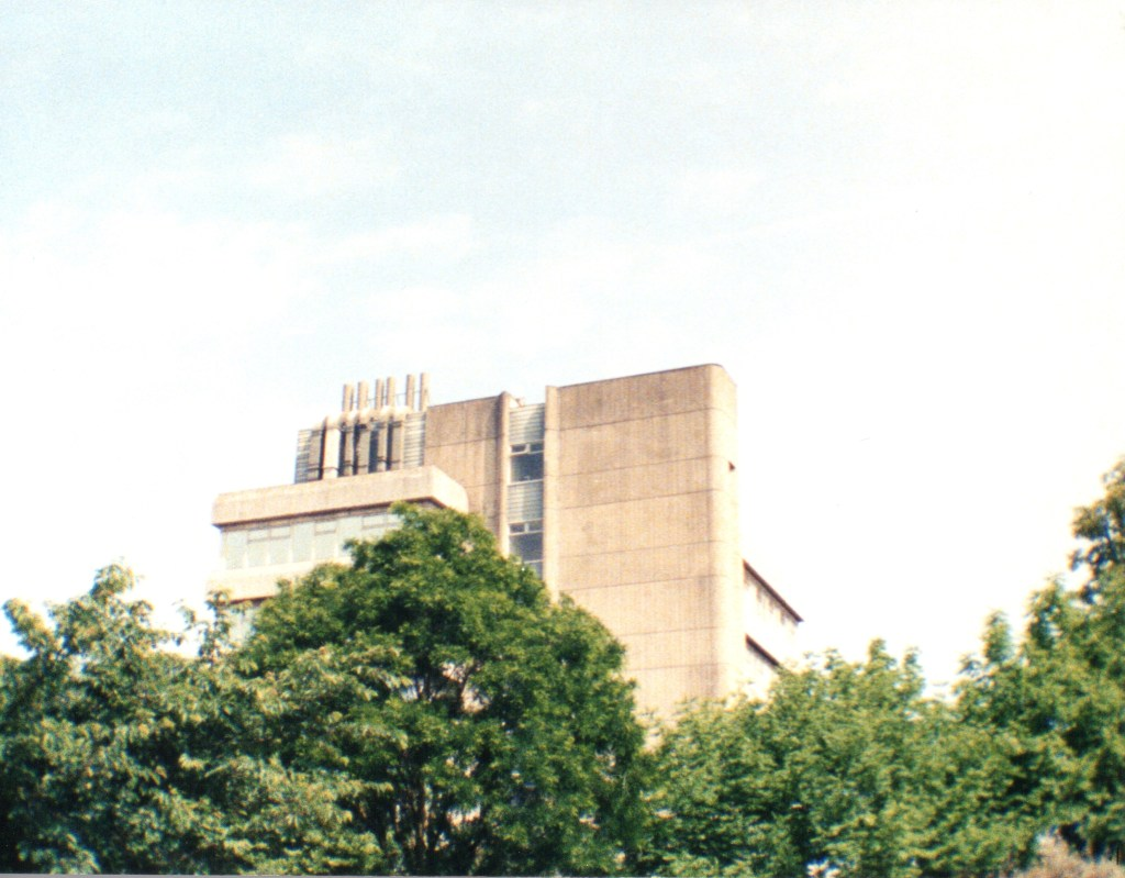 Plant Sciences Building at Reading University c.1995. Kodak Ektra. Rob Gregory Author