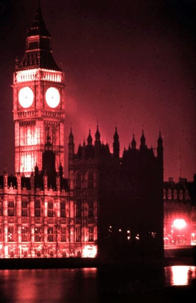 London lost - Big Ben. Rob Gregory Author