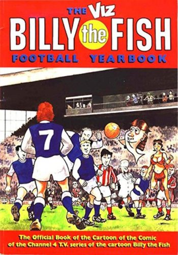 Week that was. Billy the Fish yearbook cover. Rob Gregory Author