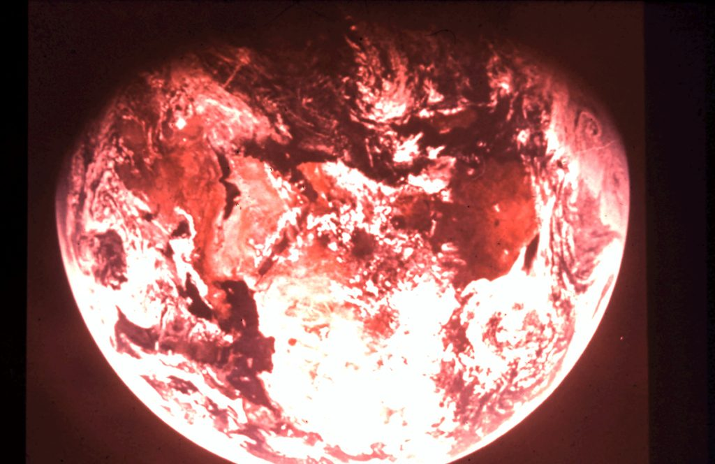 Space - Earth from 160,000 miles. Rob Gregory Author