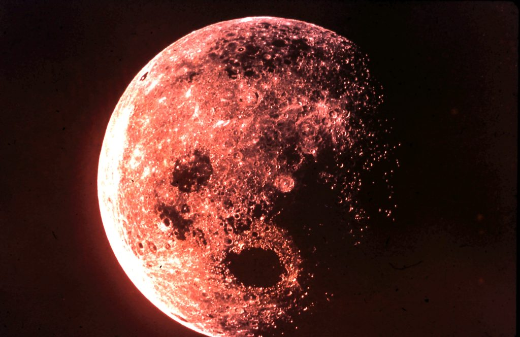 Space - the moon. Rob Gregory Author