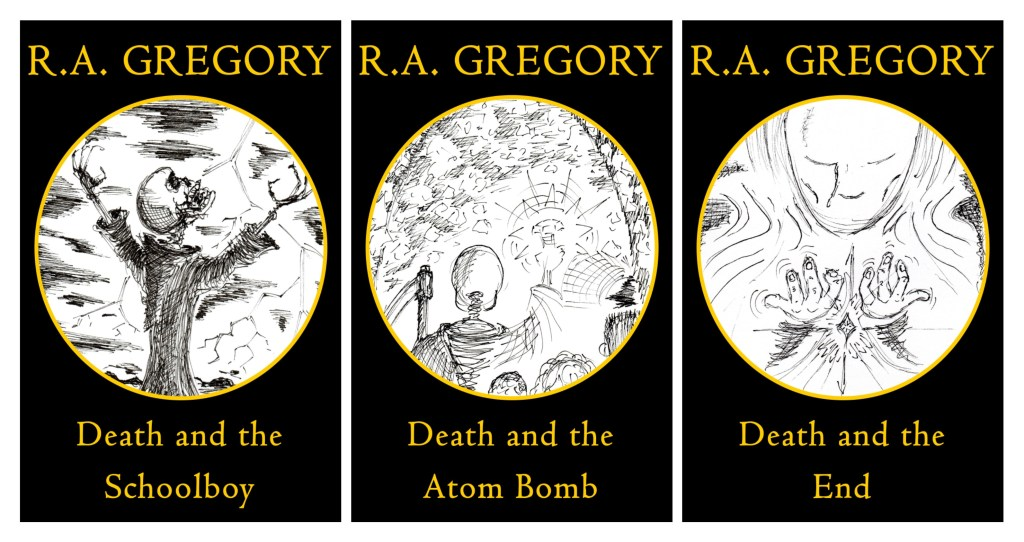 The DATS Trilogy. New cover artwork - Rob Gregory Author