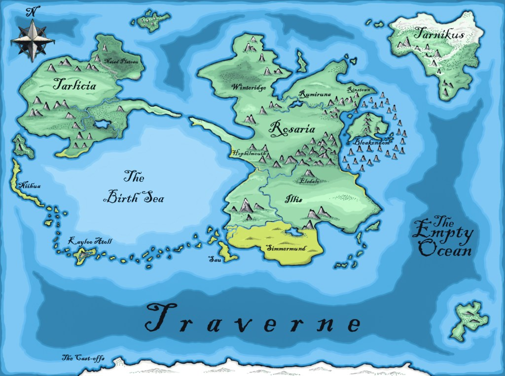 Jon Hillman's world of Traverne - Rob Gregory Author