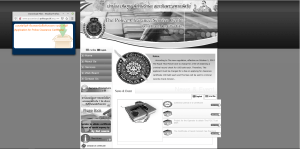 Homepage of the police certificate website in English - Rob Gregory