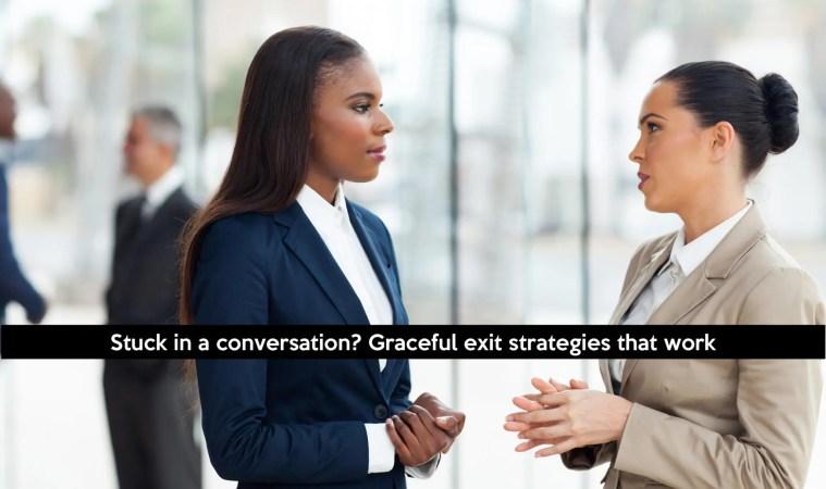 photo of 2 women talking