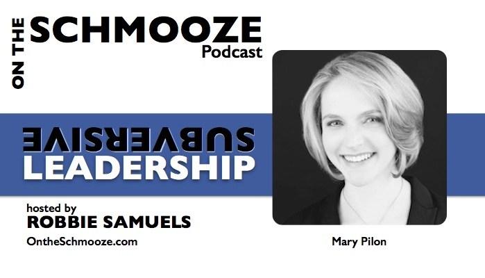 Subversive Leadership - Mary Pilon