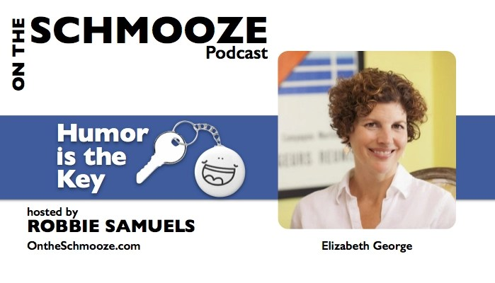 053 graphic Elizabeth George - Humor is the Key