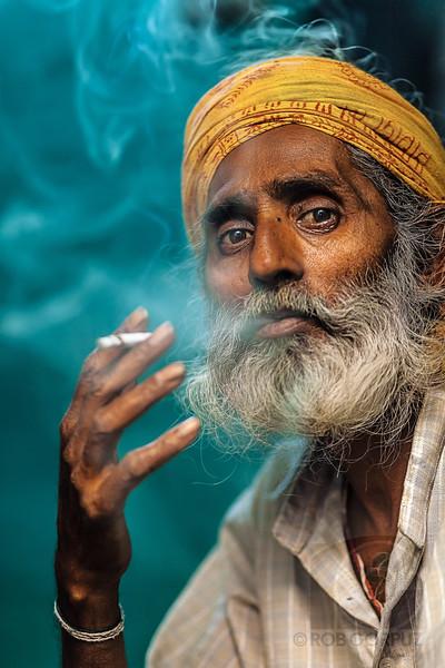 SMOKING MAN - New Delhi, India