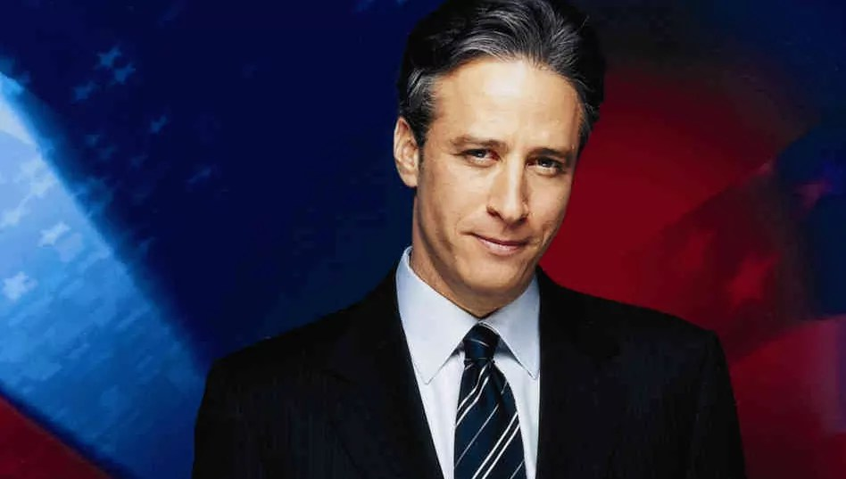 Jon Stewart's second-last moment of Zen